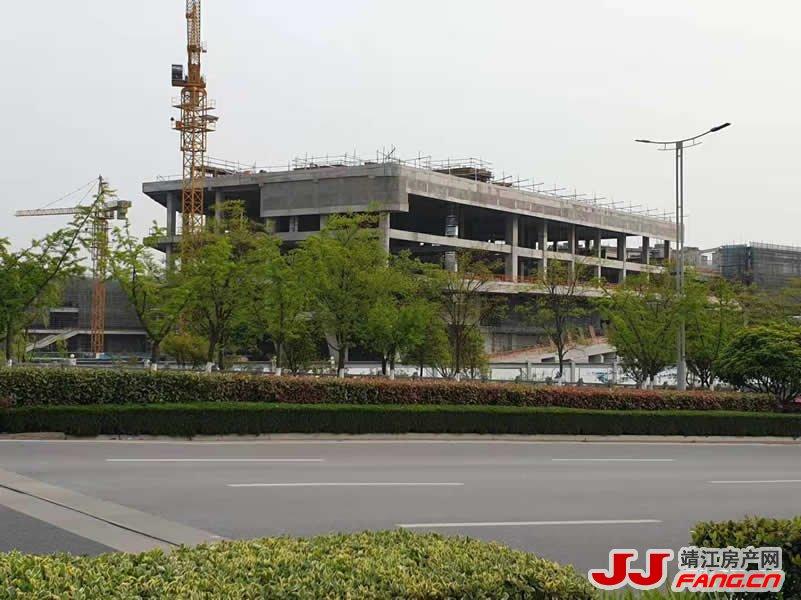 靖江印象城最新施工进度